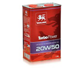 Wolver Turbo Power 20W50 20L