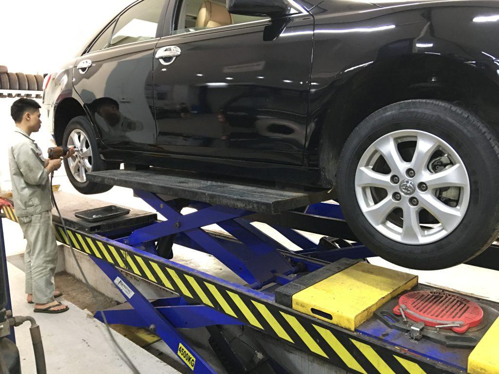Bảo dưỡng phanh xe ô tô